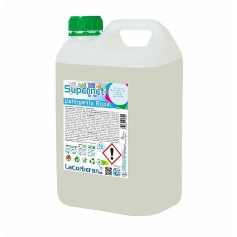 Detergente líquido para ropa Supernet 5 LITROS
