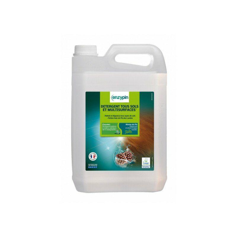 Detergente para todo tipo de suelos con etiqueta ecológica 5L - Enzypin