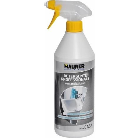 Detergente per Bagno con Anticalcare 750 ml Maurer Plus