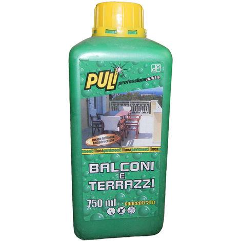 Detergente per balconi e terrazzi Puli professione pulito 750 ml
