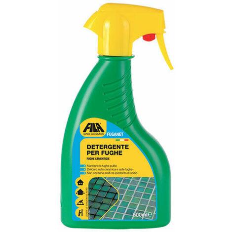 Detergente per fughe pulitore fuga pavimenti piastrelle gres fila fuganet 500 ml
