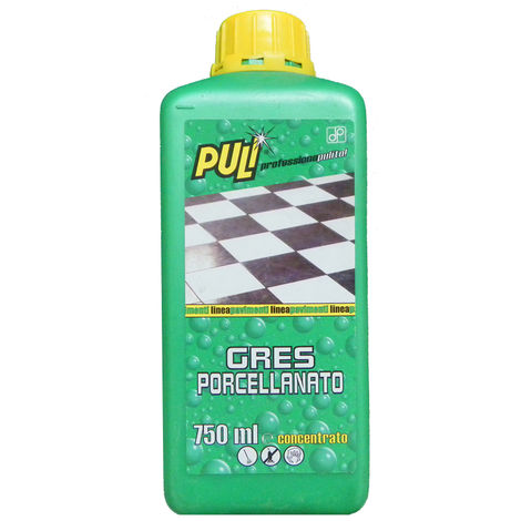 Detergente per gres porcellanate ヨ Puli 750 ml