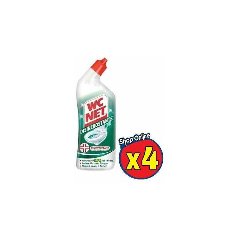 Image of 4 Wc Net Gel Disincrostante Disinfettante