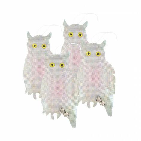 Deterrent Owls - anti-pest x4