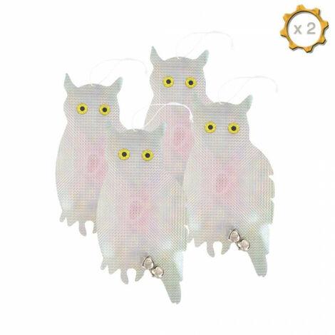 Deterrent Owls - Pest Control x8