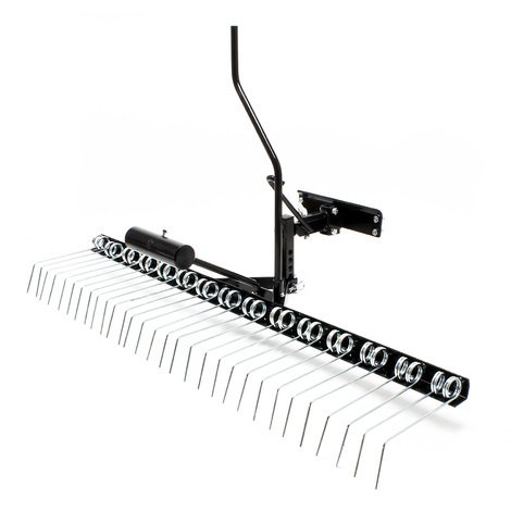 Dethatcher Lawn comb with 120cm work width for ride on mower