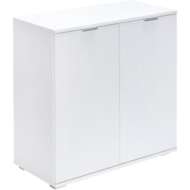 Deuba Alba Cupboard Cabinet Chest Of Drawers Storage Unit with Doors Sideboard for Bedr