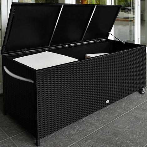 Mobel Auflagenboxen Xxl Kissenbox Auflagenbox Gartenbox Aufbewahrungsbox Gartentruhe Kiste Sitzban Drrochelle Co Id