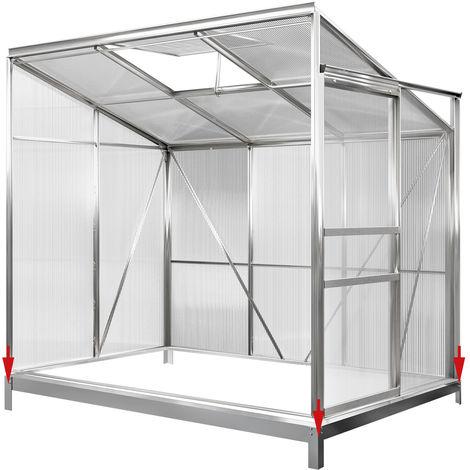 DEUBA Base Greenhouse Garden Shed 190x190cm 6x6ft