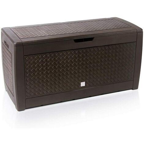 Deuba Baúl de almacenaje cofre con capacidad de 310L arcón banco color a elegir
