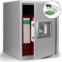 Deuba Caja fuerte seguridad Safe Cierre electrónico 35 x 40 x 40 cm Código de seguridad de 3-8 dígitos puerta de acero