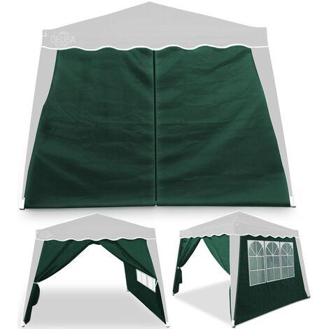 "main image of ""Deuba Carpa plegable pabellon de Jardin cenador Capri 3x3m de jardín impermeable y Pop Up para eventos camping exterior"""
