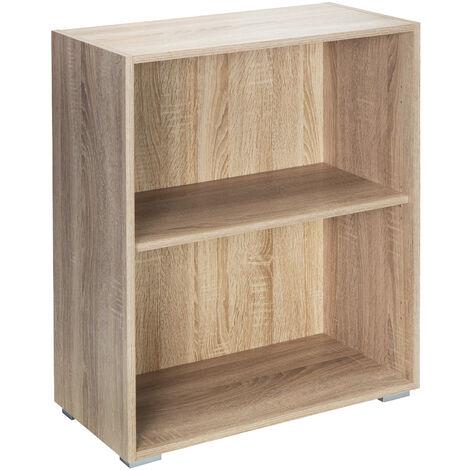 """Deuba Estantería libreria biblioteca """"Vela"""" color y tamaño a escoger mueble de almacenaje oficina casa con o sin puertas"""