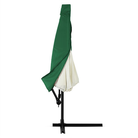 Deuba Parasol Cover Garden Cantilever Umbrella Waterproof Breathable 160 g/m² Polyester