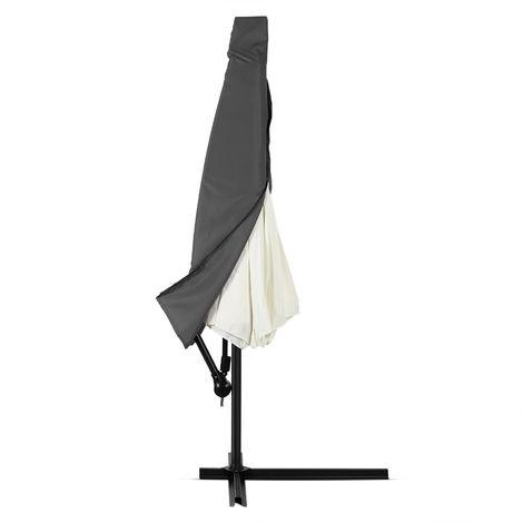 Deuba Parasol Cover Garden Cantilever Umbrella Waterproof Breathable 160 g/m² Polyester