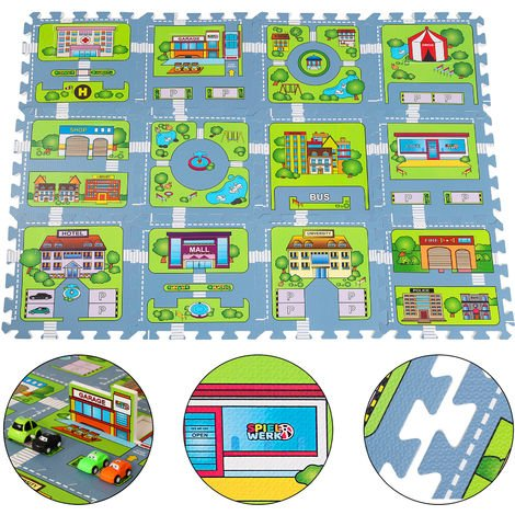 Deuba Puzzle Mat Variation 86 Pieces 20 Pieces and 6 Pieces