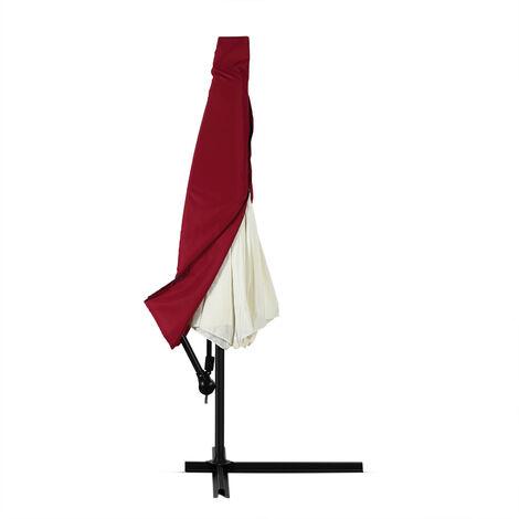 Deuba Schutzhülle Sonnenschirm für 3m Schirme Schirm Abdeckhaube Abdeckung Hülle Plane Ampelschirm