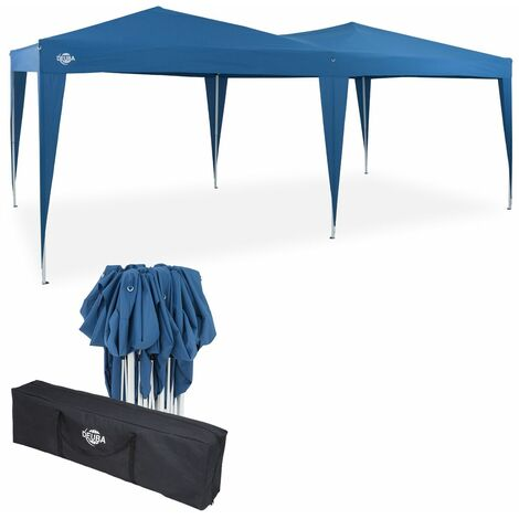 Deuba - Tonnelle de jardin 3x6m Pop-Up imperméable Protection UV 50+ Sac de transport inclus - Couleur au choix
