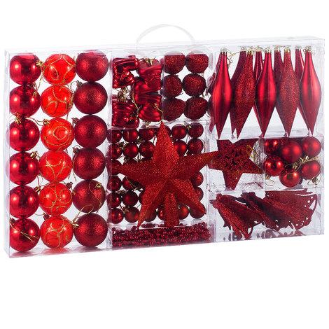 Christbaumkugeln Besondere.Deuba Weihnachtskugeln Rot 102 Christbaumschmuck Aufhänger Christbaumkugeln Für Den Weihnachtsbaum Weihnachtsbaumschmuck Weihnachtsbaumkugeln