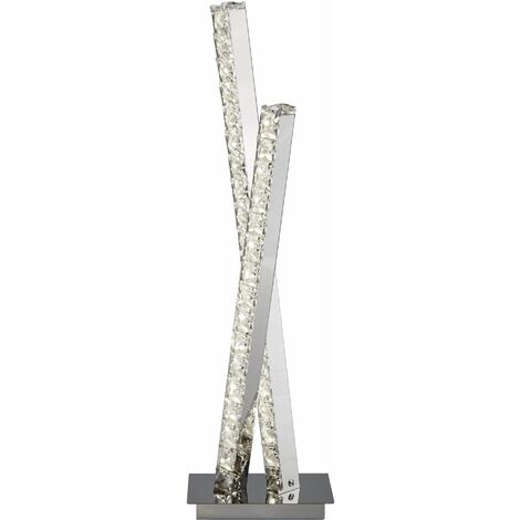 Deuce Twin Column Led Table Lamp