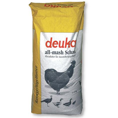 Deuka all-mash Scahu 25 kg aliment pour volaille, aliment pour exposition, aliment pour poules, aliment pour coqs