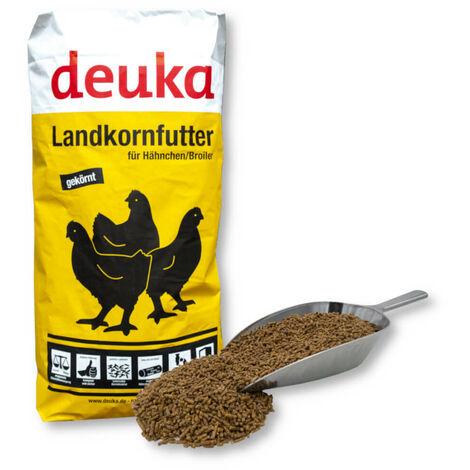 Deuka Hähnchen Mastfutter Landkornmast 25 kg aliment d'engraissement pour poulets, aliment pour volaille, aliment pour poules