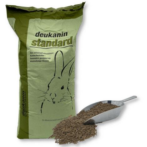 Deukanin nourriture standard pour lapin 25 kg luzerne en granulés nourriture pour lapin avec races moyennes-grosses