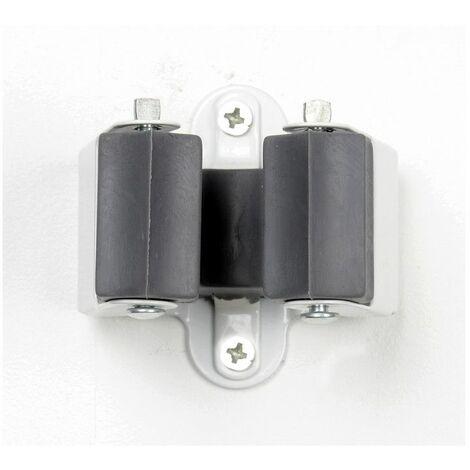 Deux porte balai muraux - Rangement facile à fixer - Livraison gratuite