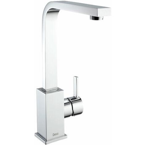Deva Camden Kitchen Sink Mixer Tap with Swivel Spout - Chrome