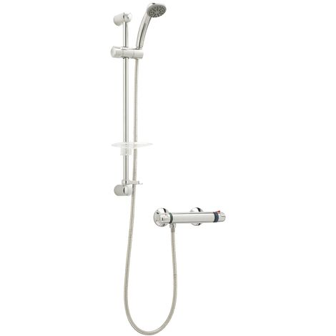 Deva Combi Bar Mixer Shower with Single Mode Shower Kit