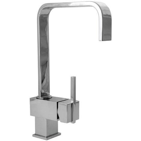Deva Edge Mono Kitchen Sink Mixer Tap, Single Lever, Chrome