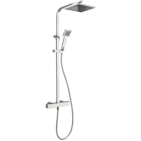 Deva Savvi Cool Touch Exposed Bar Mixer Shower with Shower Kit