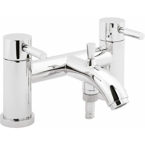 Deva Vision Bath Shower Mixer Tap Deck Mounted - Chrome