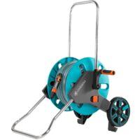 Dévidoir d'arrosage sur roues Aquaroll M - équipé et monté