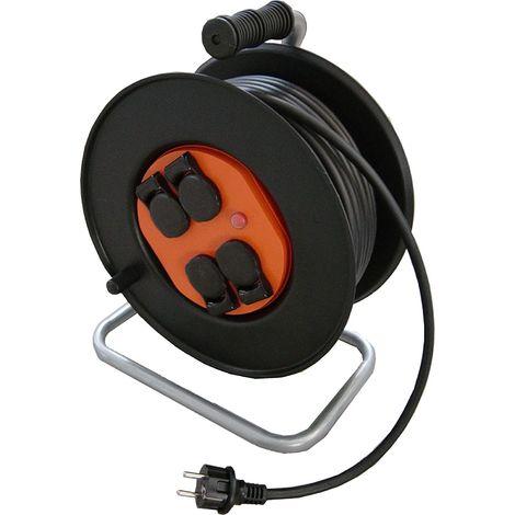 Dévidoir de câble electrique 35m 3G2,5 H07RN-F