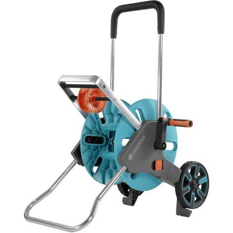 Dévidoir de tuyau sur roues nu GARDENA AquaRoll M Easy 18515-20 turquoise, orange, gris 1 pc(s)