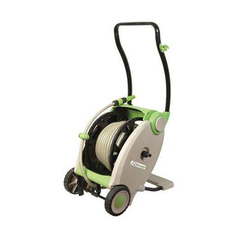 Devidoir enrouleur à pedale de tuyau de jardin - 30 metres