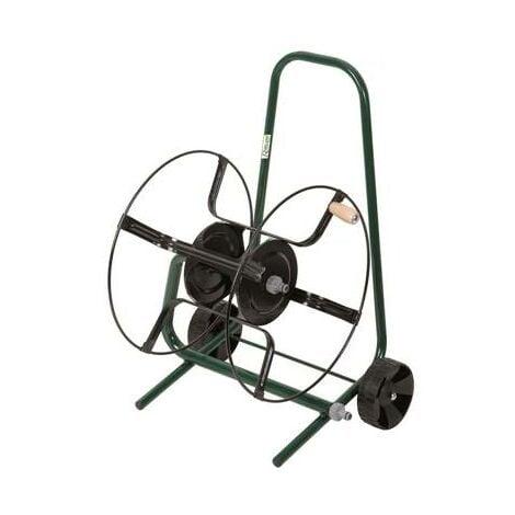 Devidoir enrouleur de tuyau de jardin sur roue à equiper