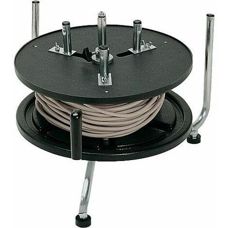 Dévidoir pour câble manivelle 570x460x400 mm