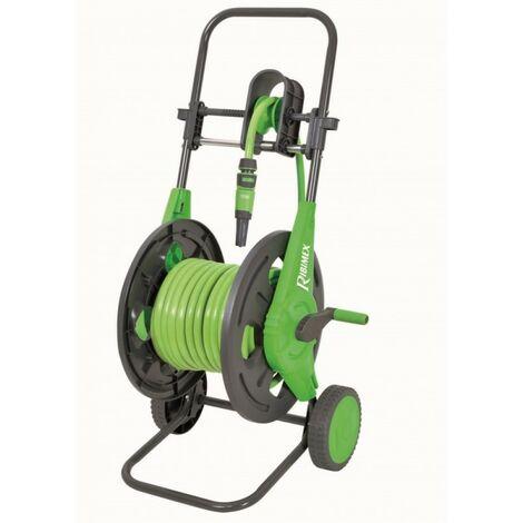 Devidoir sur roues équipé 20m 12,5+ rac et lance, capacité 60m