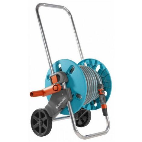 """main image of """"Dévidoir sur roues équipé Aquaroll S - équipé avec 25 m de tuyau - ø int. 13mm - poignée télescopique"""""""