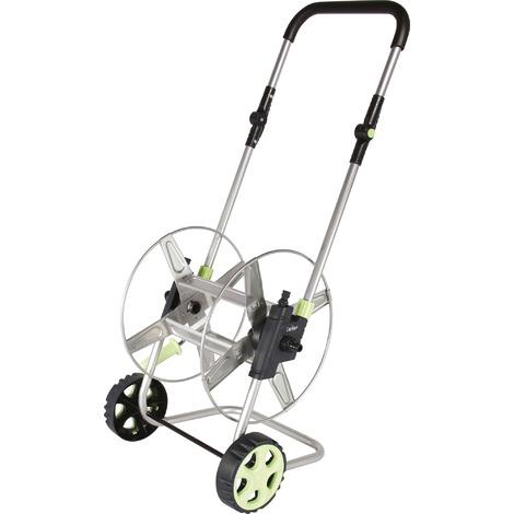 Dévidoir sur roues pliable