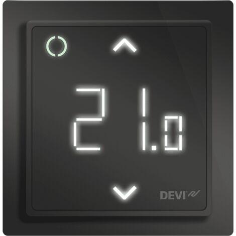 DEVIreg Smart Programmable Thermostat - Black