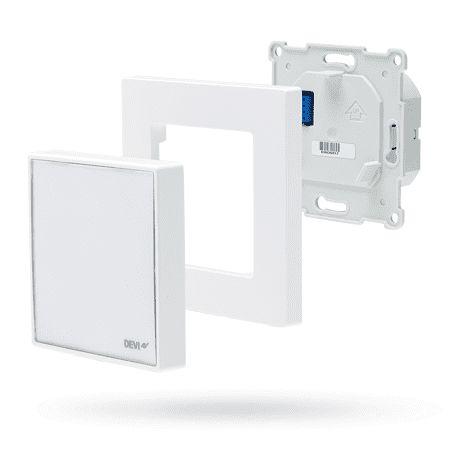 DEVIreg Smart Programmable Thermostat - Polar White
