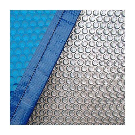 Devis bâche à bulles 500 microns bleu/or pour piscine rectangulaire 9x5 mètres