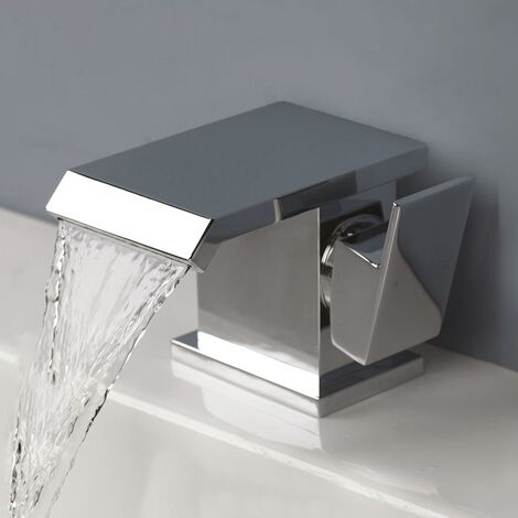 Devon Waterfall Basin Mono Mixer Tap With Waste