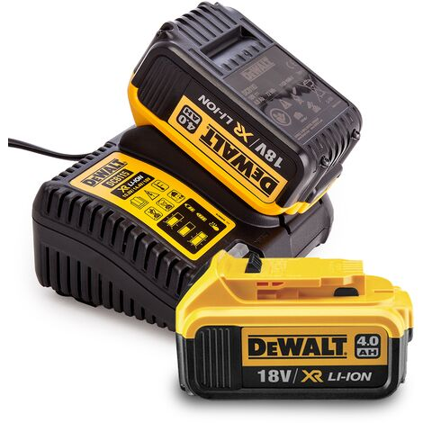 Dewalt 18V 2 x DCB182 4ah Batteries & DCB115 Fast charger Bundle