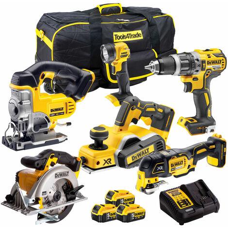 DeWalt 18V 6 Piece Cordless Kit T4TKIT-1126