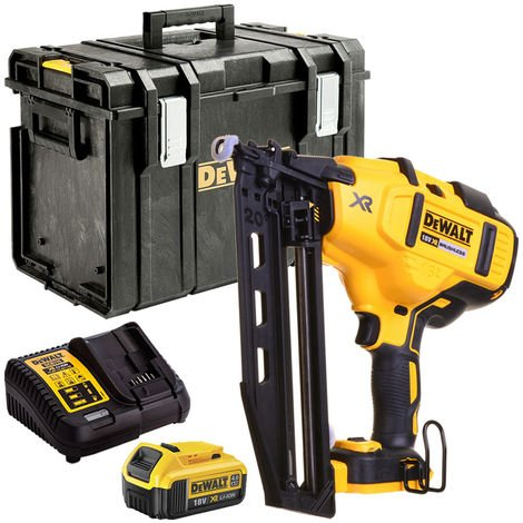 DeWalt 18V Second Fix Nailer Brushless Cordless T4TKIT-1097