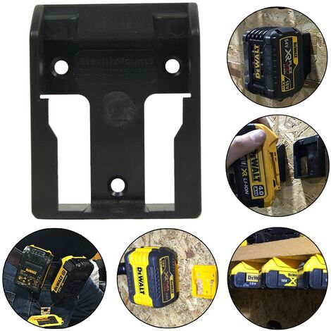 Dewalt 18v XR Flexvolt Battery Mount Shelf Wall Belt Tstak Case DCB184 DCB546